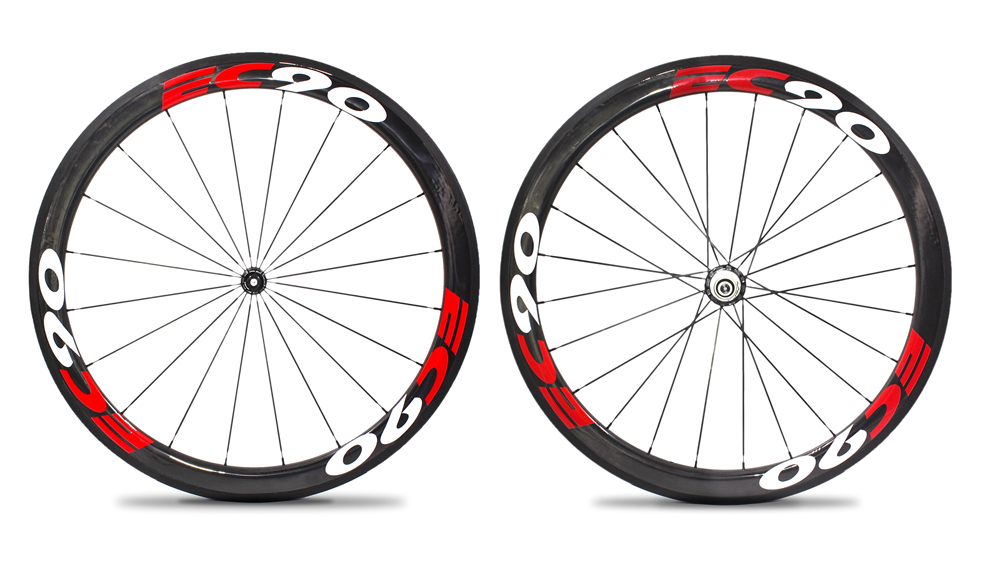 все цены на EC90 700C Carbon Wheels 38mm 50mm 60mm 88mm Carbon Bicycle Wheels Clincher Road Bike Carbon Wheelset R36 Flower drum онлайн