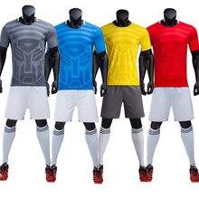 Fútbol personalizadas 18 19 100% poliéster de manga corta hombres y niños  entrenamiento de fútbol camisa verano fútbol QD 004 0a6634239a7f7