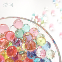 600 Particles /lot water beads Pearl shaped Crystal Soil Water Beads Mud Grow Magic Jelly balls wedding Home Decor hydrogel mix