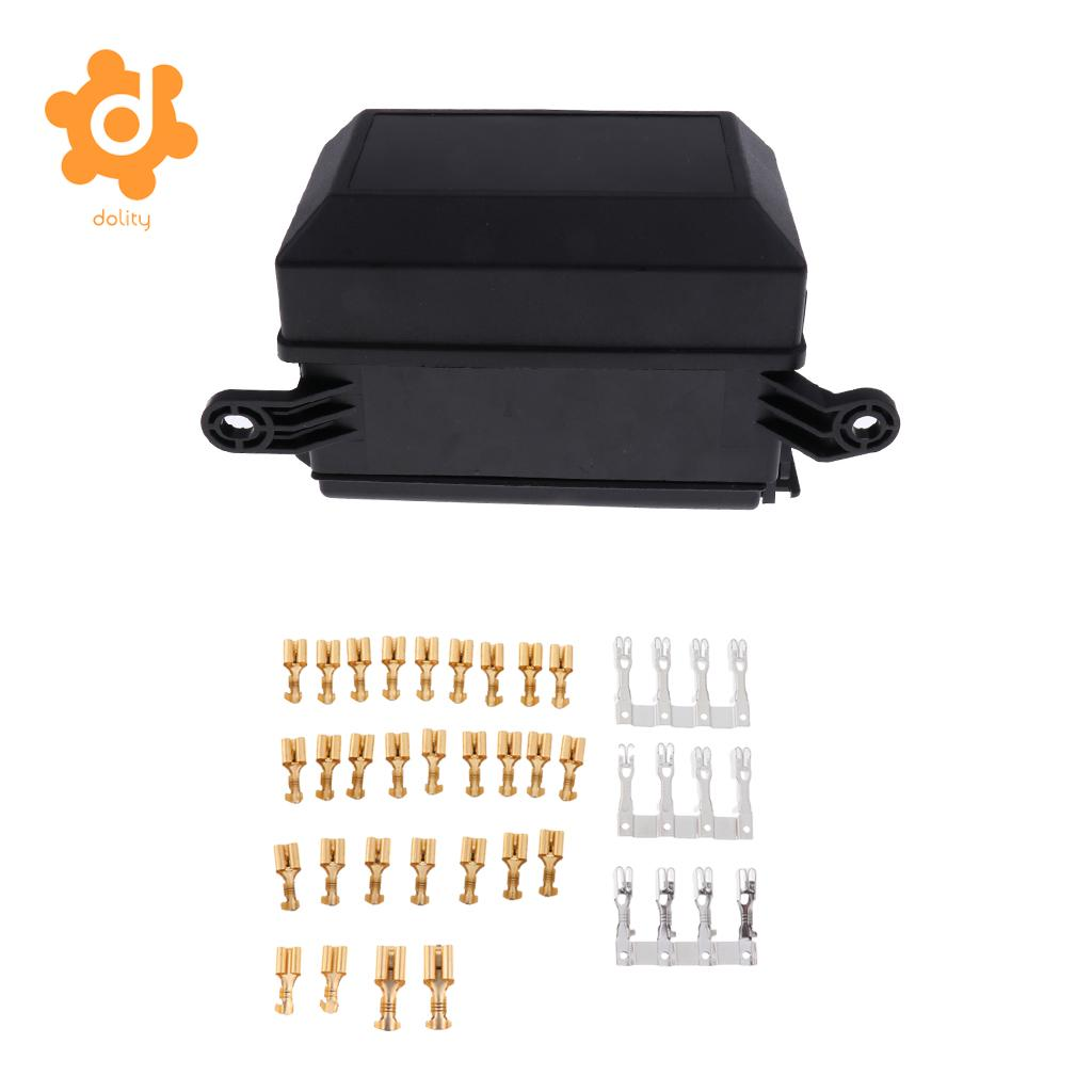 6 Way Automotive Audio Blade Fuse Holder 5 Pin Relay Socket Block Prong Pigtail Box In Car Switches Relays From Automobiles Motorcycles On Alibaba
