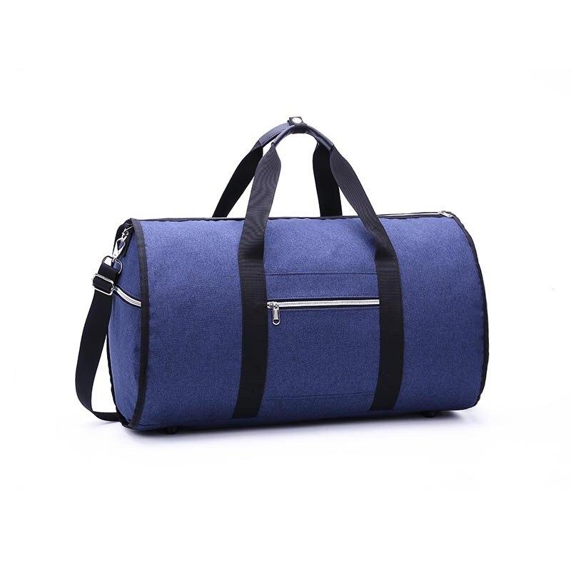 Дропшиппинг водонепроницаемый дорожный костюм вещевой мешок дорожная сумка багажные сумки бизнес большая портативная дорожная сумка для хранения - Цвет: Синий