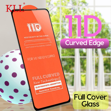 11D Curved Screen Protector for VIVO V15 Pro V11 V11i V9 Youth V7 Plus Full Cover Tempered Glass Y95 Y93 Y83 Y81