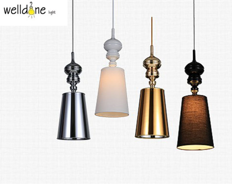 Modern Brief metal Pendant Lamps Dining Room Pendant Lights White /Black /Golden /Silver modern guard dining room pendant lights white black golden silver lamp