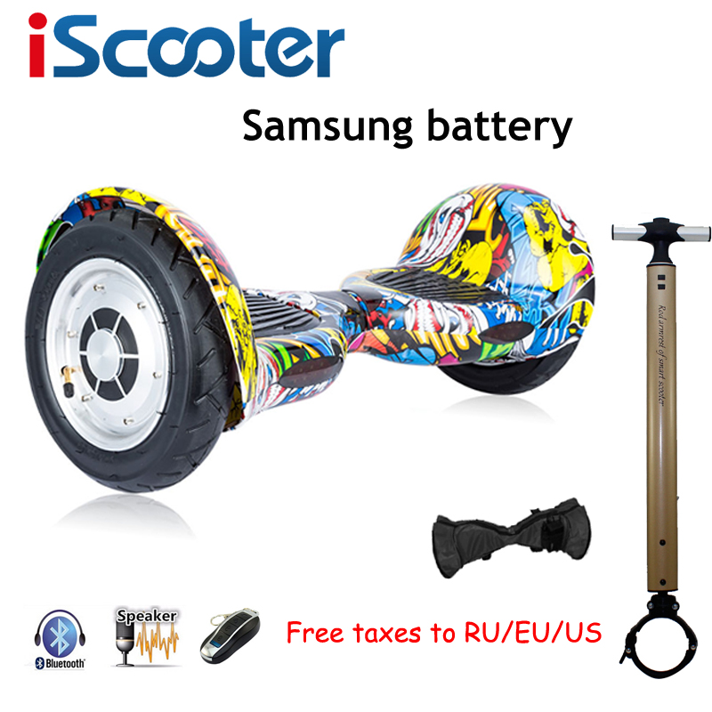 10inch Hoverbaord Samsung battery Electric self balancing Scooter for Adult Kids skateboard 10 wheels 700w Hoverboard UL2272 cn ge us warehouse smartmey 6 5inch electric self balancing scooter two wheels hoverboard gyroscopic smart skateboard