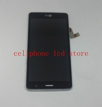 For LG Bello II  X150 Lcd Display Screen+Touch Panel Digitizer Glass+free shipping Frame assembly Pantalla