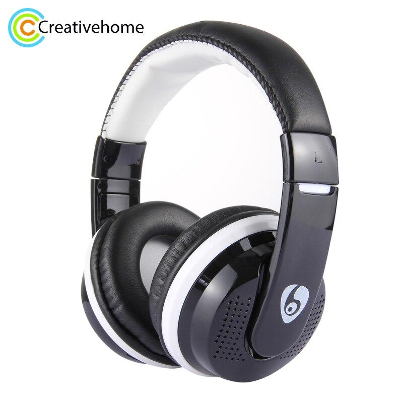 OVLENG MX666 Bass Headphone Wireless Noise Cancelling Headphones FM Headset Earphone for Phone PC Computer Headband стоимость