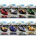Hot Wheels FORD MUSTANG SERIE 1: 64 de Aleación de coche de Bebé pequeño Juguete 8 unids/set clásico coche tipo Especial para colección edición límite