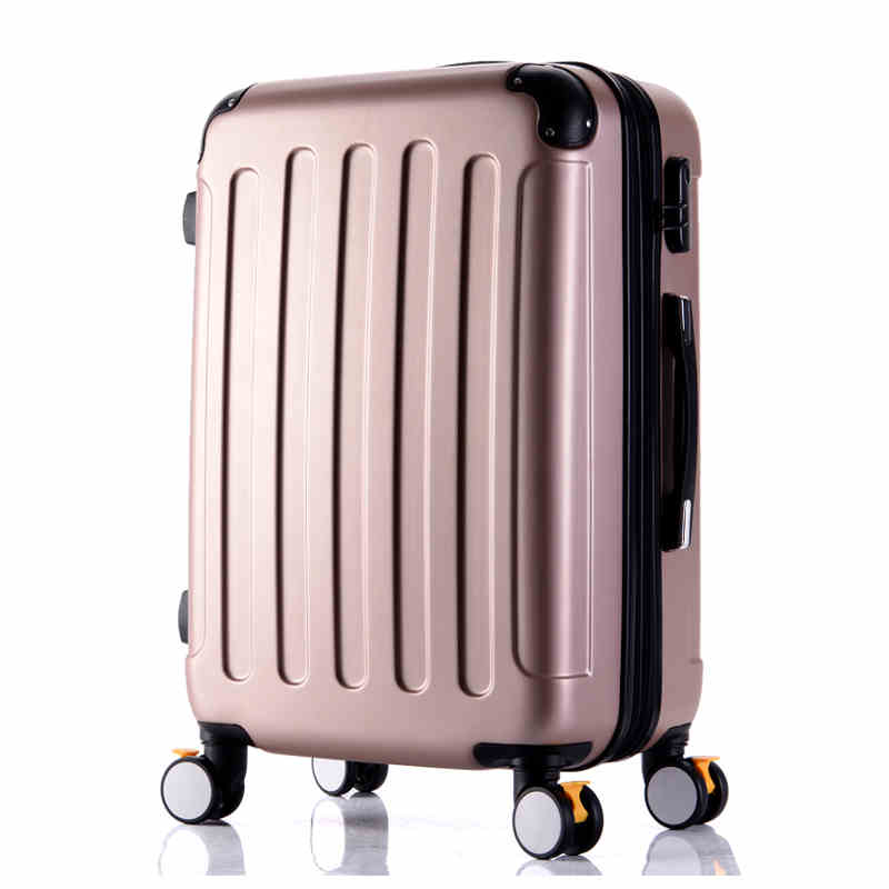 Wholesale!High quality 26inches candy color abs pc travel luggage bags on brake universal wheels,hardside suitcase for girl wholesale 24 inch abs pc red cartoon hardside suitcase good quality fashion universal trolley luggage gift for girl euro style