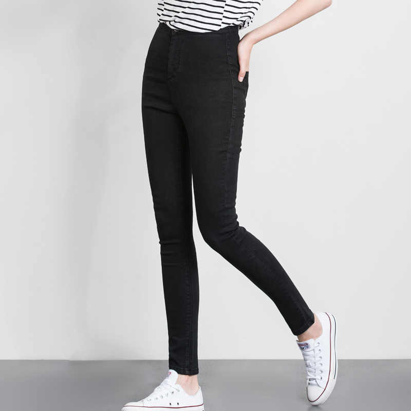 236794656fd54 ... LEIJIJJEANS 2019 women push up jeans Plus Size women pants High Waist  Full Length Women Casual ...