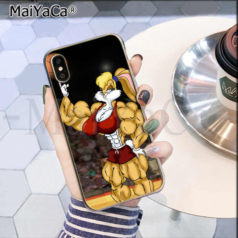 MaiYaCa bugs lola bugs bunny Looney Tunes Molle del silicone di TPU In Caso di Vendita Del Telefono per il iPhone 8 7 6 6S Plus X XS max 5 5S SE XR