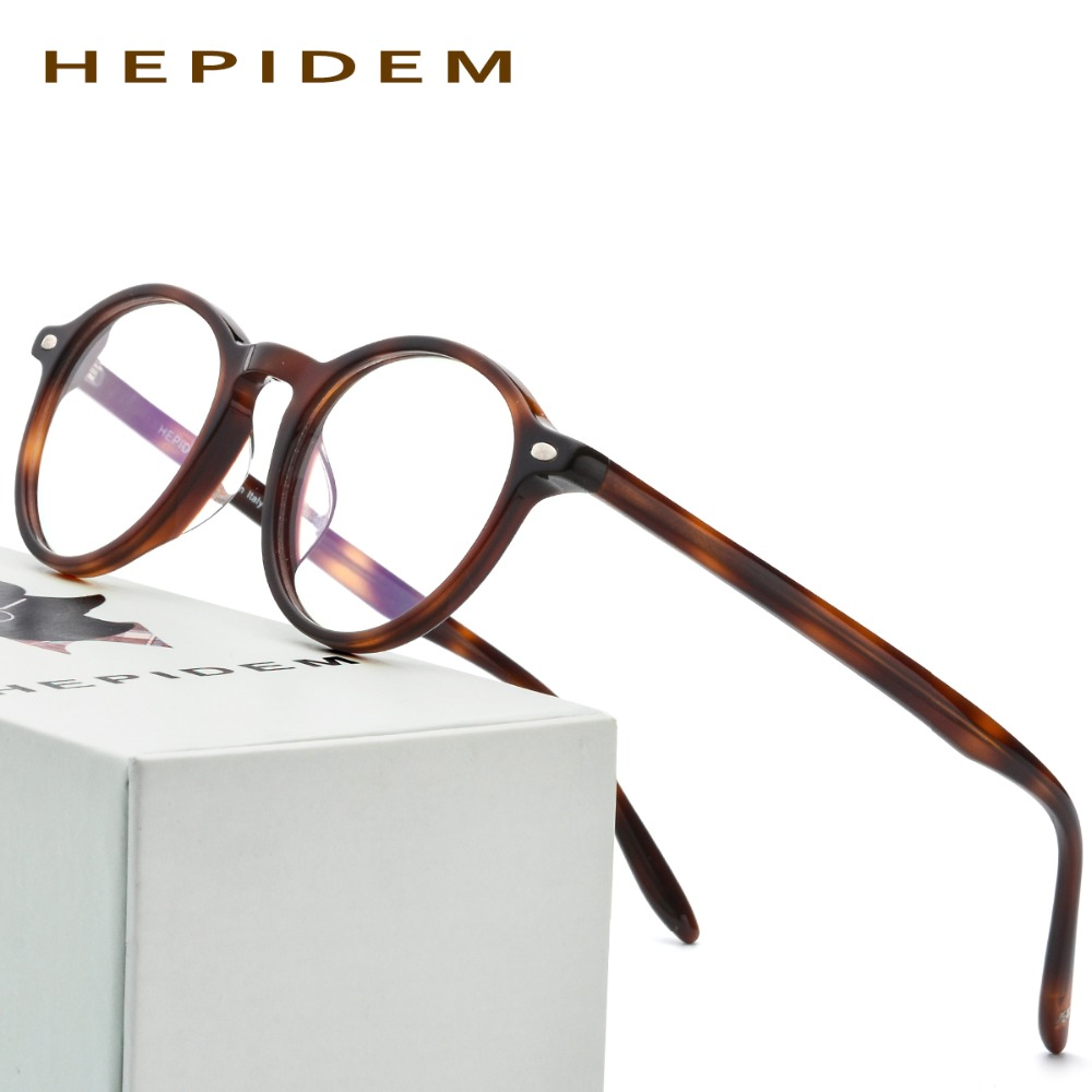 Acetate Glasses Frame Men Oliver Women Round Prescription Spectacles Vintage People Johnny Depp Full Optical Eyeglasses Eyewear acetate prescription glasses frame men oliver full round spectacles fors women peoples optical nerd myopia wood grain eyeglasses