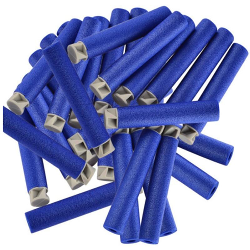 100PCS Refill Bullets Dart Refill Pack Refill Darts For Nerf N-Strike Elite Accustrike Series Blaster Foam Bullets For Nerf