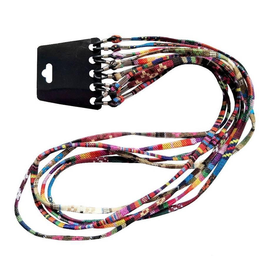 5pcs/lot Hot Glasses Lanyard Neck Cord Sunglasses Chain Strap Holder Retainer Spectacle Sport Colors Random 71cm Wholesale
