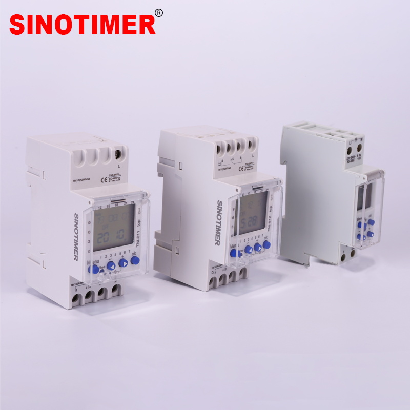 Factory Price DIN RAIL 24hrs 7 Days Programmable Time Controller with high quality