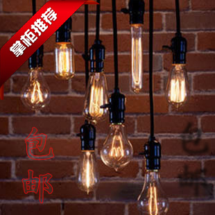 Vintage tungsten wire light bulb pendant light decoration bar table vintage tungsten wire light bulb pendant light decoration bar table personalized diy lamps greentooth Gallery