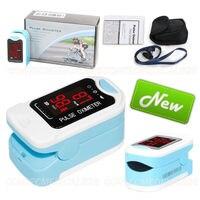 CMS50M LED Fingertip Pulse Oximeter Spo2 Monitor Carry Case Lanyard HOT SALE CE CONTEC
