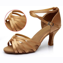 Women Dance Shoes Satin/PU Popuplar High Quality Latin Dance Shoes for Women/Ladies/Girls/Tango&Salsa 5cm /7cm Heel