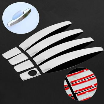 For Opel Astra H 2004-2009 OPEL Astra J 2010-2015 Holden Vauxhall Astra Stainless Steel Car Door Handle Cover Trim Sticker фото