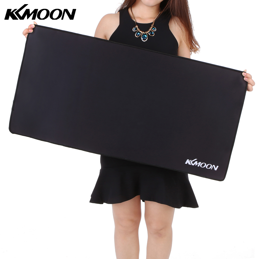 KKMOON Large Size mousepad Gaming mouse pad Plain Extended Waterproof Anti-slip Natural Rubber Desk Mat for LOL overwatch dota 2