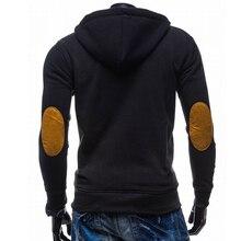 Unpadupe 2018 New Brand Hoodies Men Sweatshirt Male Fight Color Hooded Zipper Long Sleeve Sweatshirt Men Hoodies Outwear M-XXL