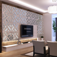 Creative Design 3D Wall Sticker DIY Acrylic Wall Decor Art For Living Room Home Decoration Modern