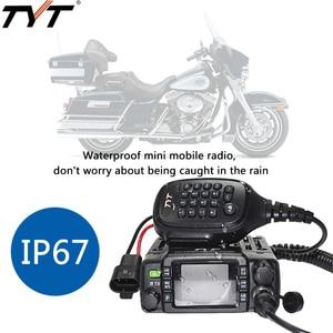 Image 2 - Tyt TH 8600 IP67防水デュアルバンドミニ車移動無線25ワットpowful vhf 136 174mhz UHF400 480Mhz 200CHカーラジオ局ハム