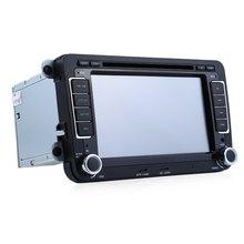 7 cal Podwójne Din 16 GB Odtwarzacz DVD Nawigacji GPS W desce rozdzielczej Samochodu Auto Radio Audio Stereo Dotykowy Ekran HD TFT LCD dla Volkswagena