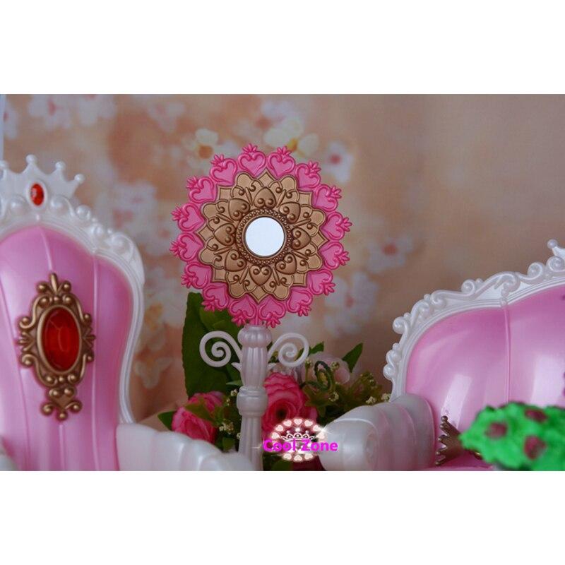 Meubles Miniature Salon Princesse pour Barbie Maison de Poupée - Poupées et accessoires - Photo 3