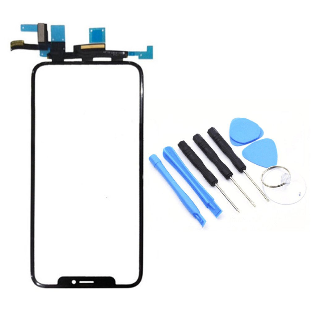1 PCS Compatible For iPhone X LCD Screen and Digitizer Assembly Frame Smartphone Anti Scratching Display Touch Replace Part