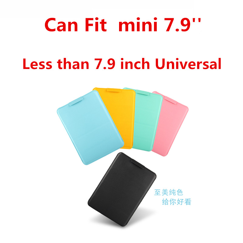 SD New Hot ultra-thin super slim sleeve pouch cover for ipad mini mipad 7.9 Sony Z3 Tablet Less than 8.0 inch Universal