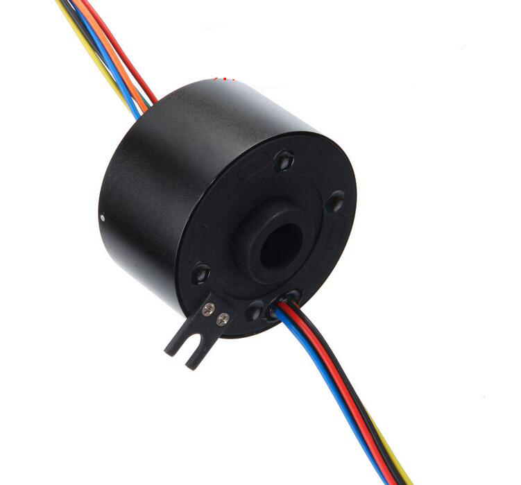 Hole Slipring Hole Dia. 12.77mm 6 Channel 10A Hollow Shaft Metal Case Slip Ring For Camera/Drone Accessories