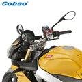 Cobao Material do ABS Da Motocicleta Universal Acessórios Da Bicicleta Da Bicicleta do Guiador Montar Titular do telefone móvel Suporte