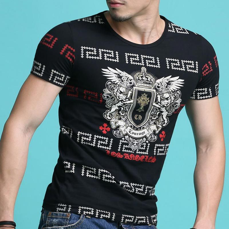 Hot sale 2017 new arrival fashion brand clothing summer t for Top t shirt brands