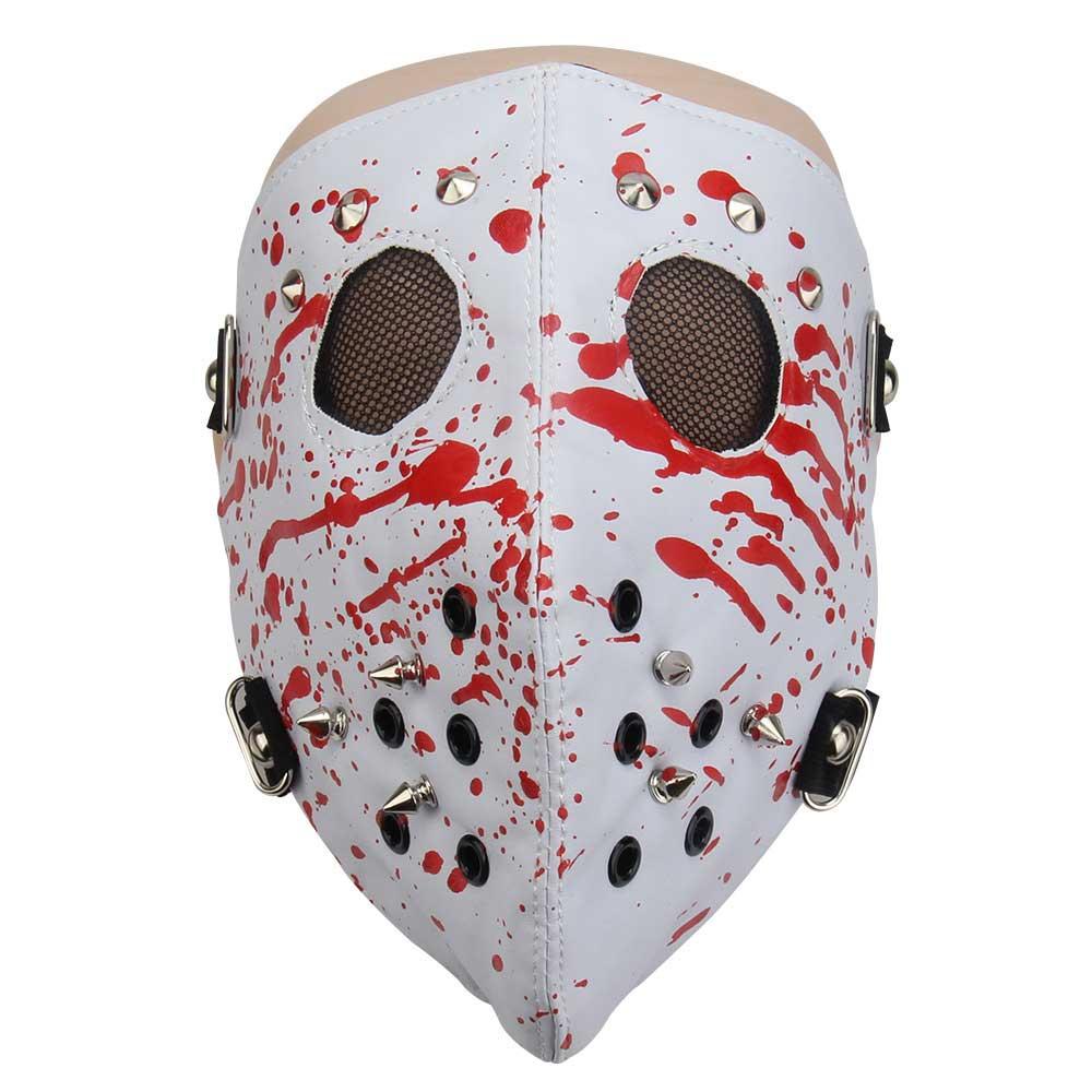 Zielsetzung Mode Motorrad Masken Leder Punk Rock Gesicht Maske Hip-hop-halloween-party Maske Schädel Masken Verpackung Der Nominierten Marke Masken Bekleidung Zubehör