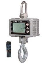 Alta precisión 1000 KG LIBRAS Balanza Bascula Digital Escala de la Grúa de Servicio pesado De Aluminio LCD con control remoto