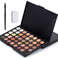 Hot 40 Color Matte Eyeshadow Palette Make Up Palette Eye Shadow Glitter Natural Easy to Wear Waterproof Lasting Makeup