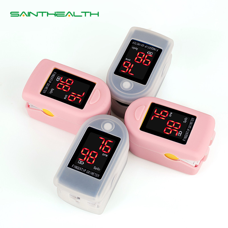 Blood Pressure Bescheiden Sainthealth Finger-pulsoximeter Mit Fall Fingertip Oximetro De Pulso De Dedo Led Pulsoximeter Saturator Pulsioximetro Gesundheitsversorgung
