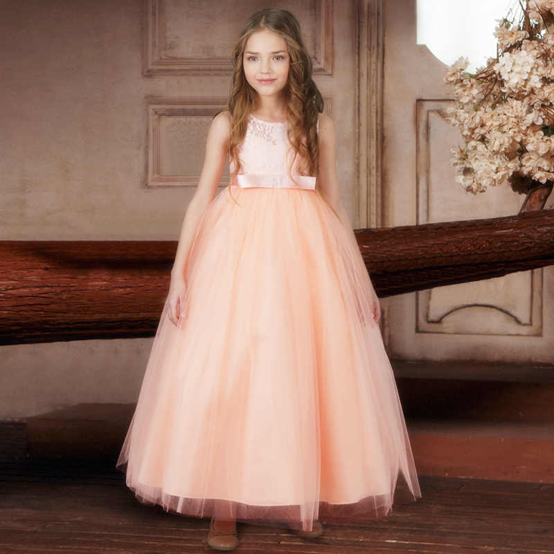 34d0e7e62 Vestido de fiesta de graduación para niña, vestido Formal para ...