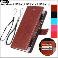 Чехлы для Xiaomi Max 6,44 дюйма, чехол с держателем для карт, чехол для Xiaomi Mi Max 2 3, чехол для телефона из искусственной кожи, Ультратонкий чехол бумажник с откидной крышкой