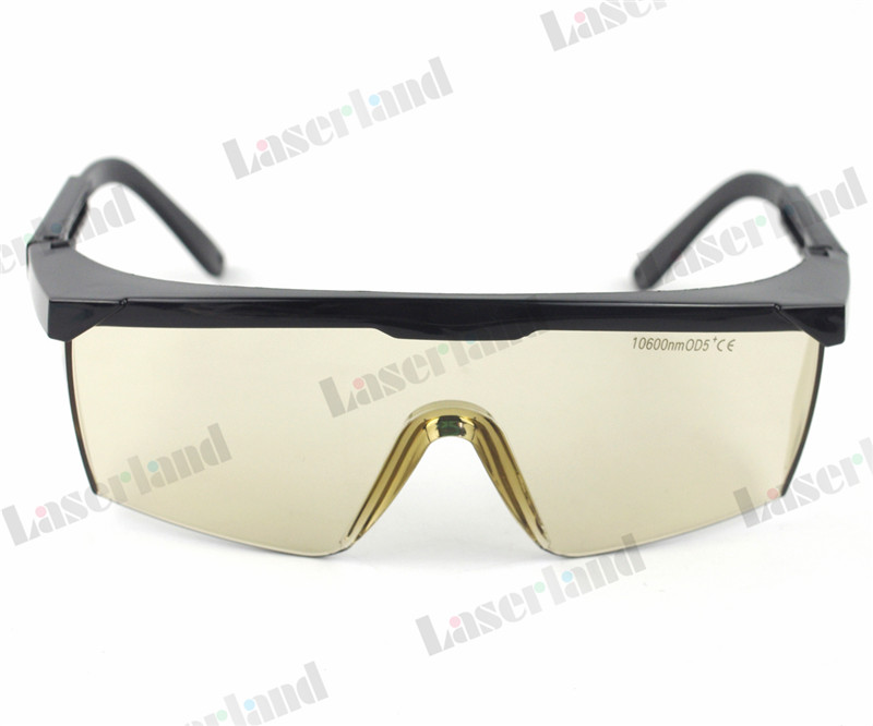 10.6um CO2 Laser Goggles Protective 10600nm OD5+ Eyewear Glasses Absorption CE