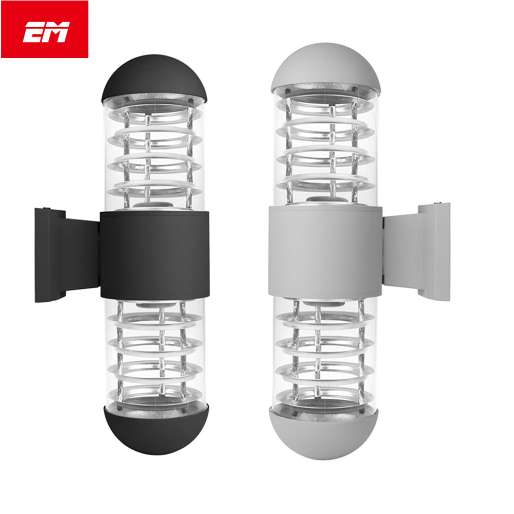LED Wall Light Fixtures IP65 Wall Lamp AC 85-260V with E27 Bulb Garden Lamp courtyard light porch light up down lamp ZBD0118 black led wall light waterproof ip65 stainless steel up down gu10 double wall lamp indoor outdoor wall lamp ac 85 265v