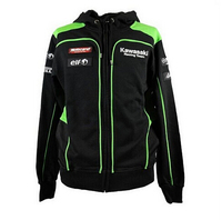 2018 for Kawasaki Racing Team Moto GP Hoodie Adult Hoodie Sports Sweatshirt Men's Zipper Jacket Costume