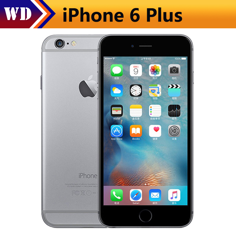 Used Original Unlocked iphone 6/6plus Dual Core 4.7/5.5inch 16GB/64GB/128GB Apple A8 CPU used(China)