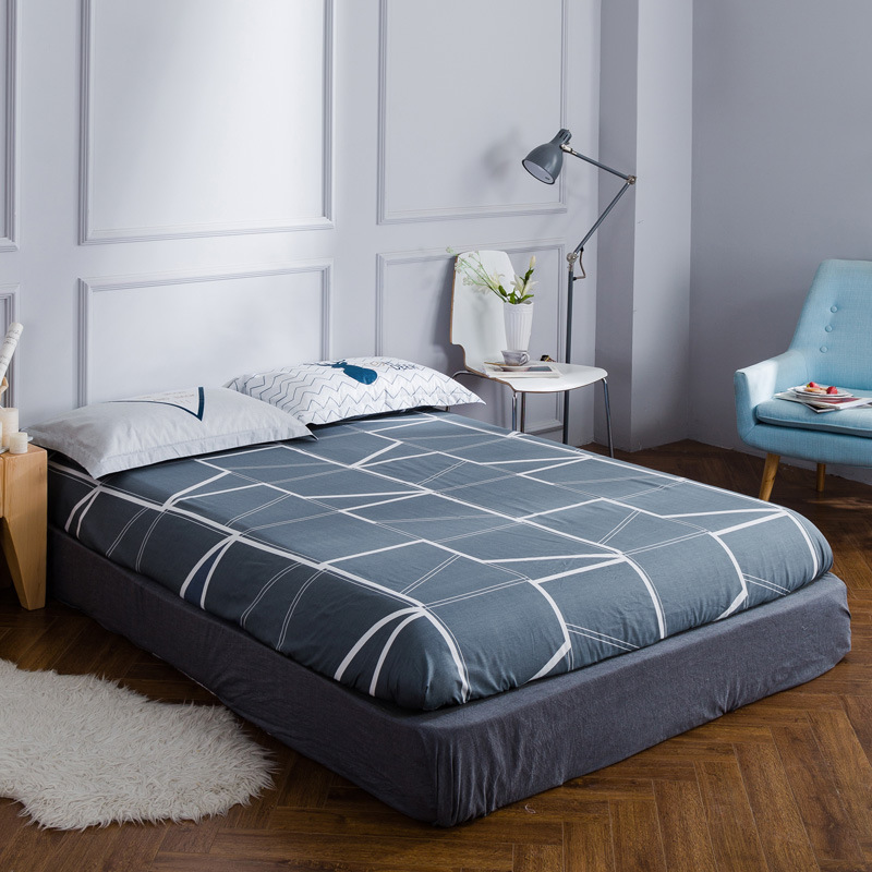 Modern lattice Twin Full Queen size fitted sheet ...