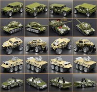 Diecast And Vehicle Child 1 64 Alloy Metal Suit 5 Pieces Car Model Frie Truck Military