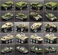 Niños Diecast y vehículos de juguete juguetes niño 1: 64 metal de la aleación traje 5 Unids/lote coche modelo camiones frie ejército militar médico de la ciudad serie