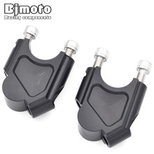 BJMOTO Motorcycle Bar Clamps Raised Handlebar Handle Risers For BMW F800GS F 800 GS 2008-2017 Moves Up 40mm