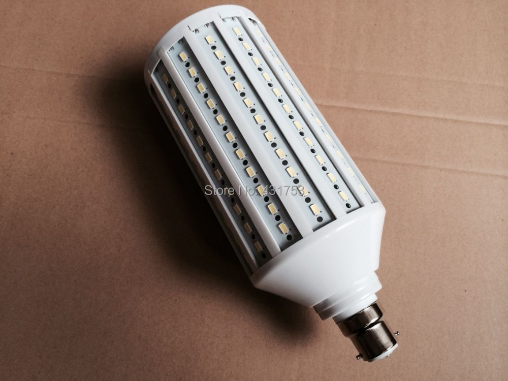 5pcs B22 55W 5730 SMD 176 LED Chip White/Warm white LED Energy Saving Corn Light Lamp Bulb 110V/220V/230V/240V Lamps bulbs e27 15w trap lamp uv spiral energy saving lamps purple white