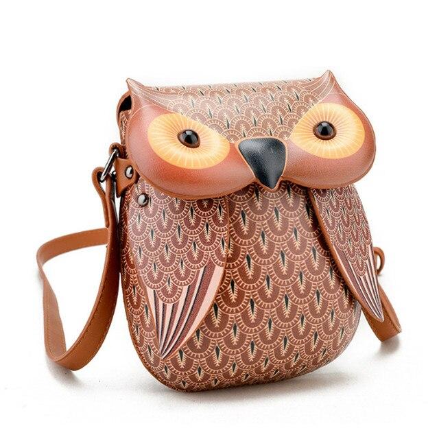 ... Cute Owl Shoulder Bag Purse Handbags Women Messenger Bags FOR Girls  Cartoon with Crossbody Phone Bag Owl Bag. Previous. Next 63ef9c1a26