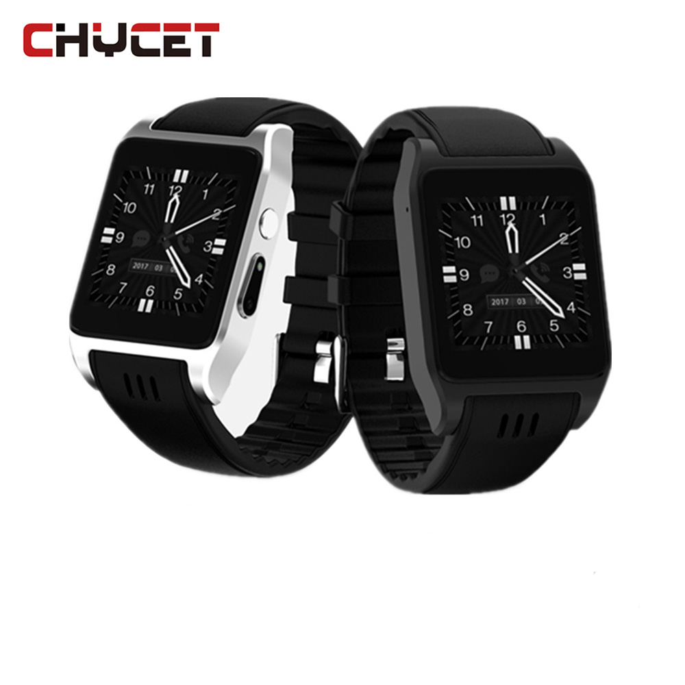 Chycet X86 Sport Smart-Watch watches 8G ROM 512Mb RAM support SIM Card Smartwatch BT 3G Wifi with Camera For Android IOS phone цена